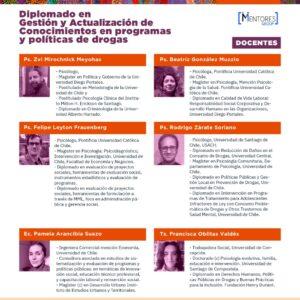 Diplomado en Gestión y Actualización de Conocimientos en Programas y Políticas de Drogas