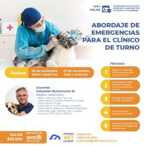 Curso de Emergencias Veterinarias