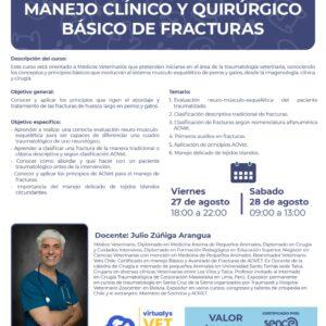 Curso de Manejo Clínico y Quirúrgico básico de fracturas